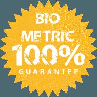 """usphoto """"100% Biometric"""" Guarantee Seal"""